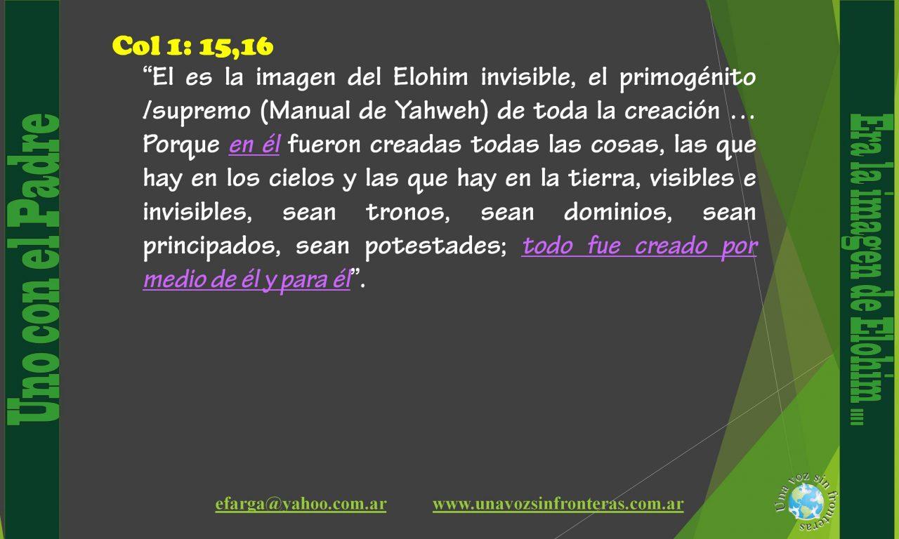 003 El espíritu de Elohim